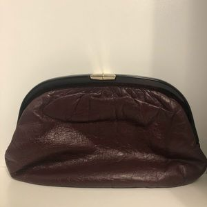 Vintage Rare Ruth Saltz clutch w/ lucite frame